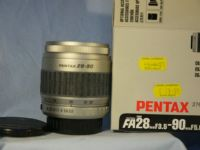 '     28-90MM -BOXED-AS NEW- ' 28-90mm Pentax AF Lens -BOXED AS NEW- £24.99